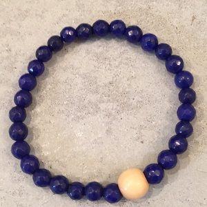 Jewelry - ☮️December birthstone☮️blue lapis bracelet